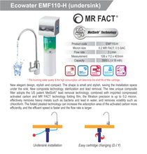 Load image into Gallery viewer, ECOWATER EMF110-H Drinking Water Filtration System - Ecowater Malaysia