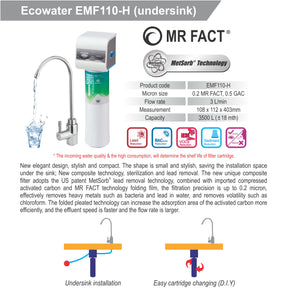 ECOWATER EMF110-H Drinking Water Filtration System - Ecowater Malaysia