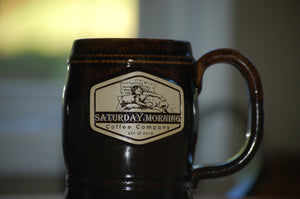 20oz SMCC Earthenware Steins -Brown and Grey