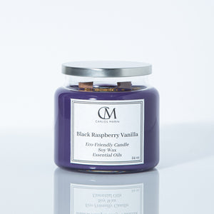 Black Raspberry Vanilla Candle. 24 oz