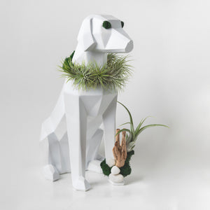 dog figurine art
