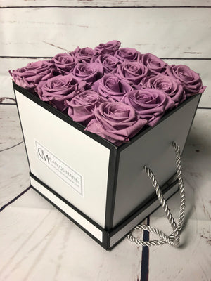 Preserved Roses - Square Box