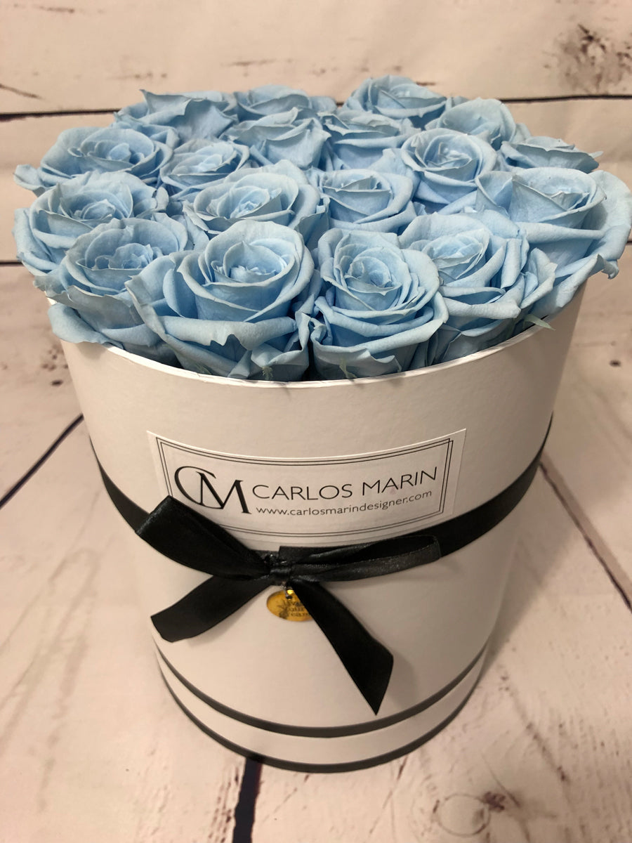 Preserved Roses - Round Box