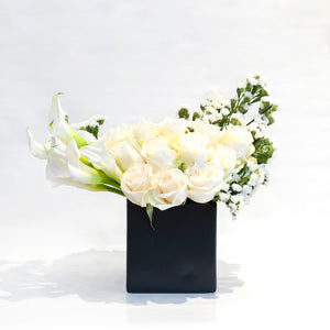 Black and White Arrangement