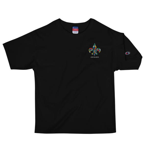 The Embroidered Fleur Heavyweight Tee