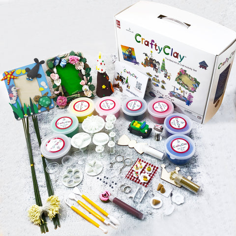 Air Dry Clay Modeling Set - Products To Build a Better Brain