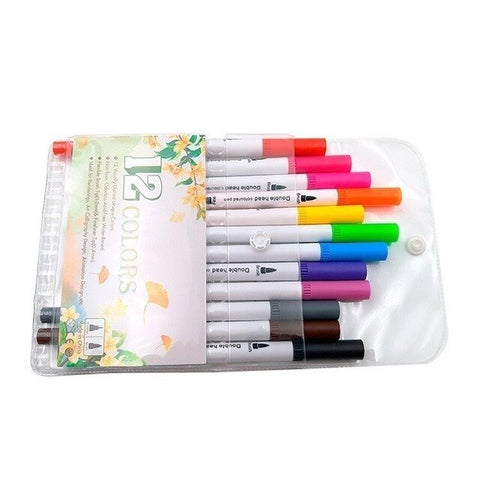 12/24/36/48/60/80/100PCS Colors FineLiner Drawing Painting Watercolor - Products To Build a Better Brain