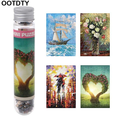150 Pcs Puzzle Jigsaw Worldwide Painting Landscape Children Adults Educational - Products To Build a Better Brain