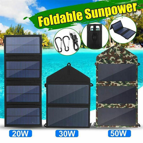 20W 30W 50W Folding Solar Panel - Products To Build a Better Brain