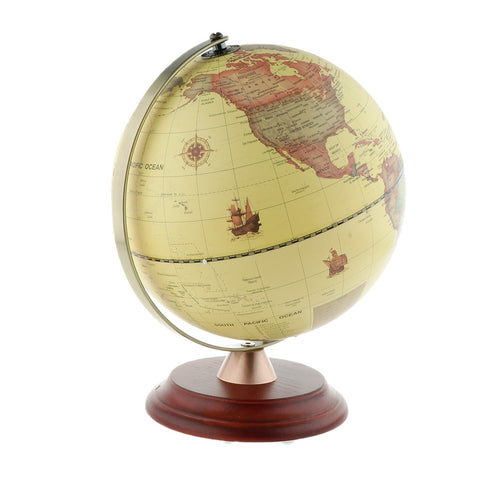 23cm Dia LED light World Earth Globe Map Geography Educational Toy With Stand Office Desktop Decor - Products To Build a Better Brain