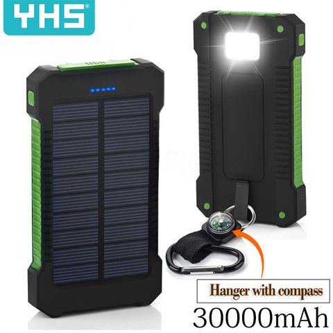 30000mAh Solar Power Bank Waterproof Solar - Products To Build a Better Brain