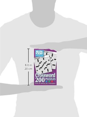 USA TODAY Crossword: 200 Puzzles from - Products To Build a Better Brain