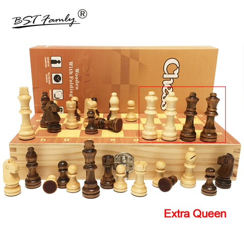 4 Queens Magnetic Wooden Chess Set - Products To Build a Better Brain