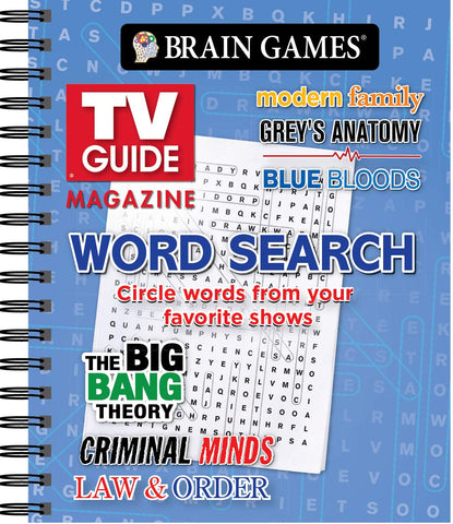 Brain Games - TV Guide Magazine Word Search: Publications International Ltd - Products To Build a Better Brain