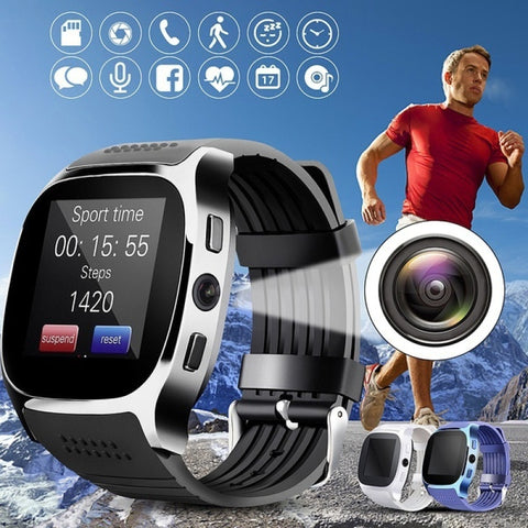 T8 Bluetooth Smart Watch Support SIM TF Card Phone Smart Android Watch - Products To Build a Better Brain