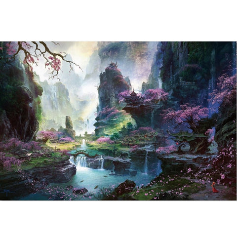 Adults 1000 pieces Beautiful World Jigsaw Puzzle New Arrival Puzzle 1000 Piece  Wooden Paper Educational Toy Christmas Gift - Products To Build a Better Brain