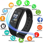 Bluetooth Smart Watch Sport Fitness Tracker Smart Bracelet Smartwatch Blood Pressure Heart Rate Monitor for Android IOS GIFT - Products To Build a Better Brain