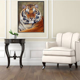 Diamond Embroidery Tiger Mosaic 5D Diamond Painting Partial Round Diamond Cross Stitch Needlework DIY Animal Painting Craft - Products To Build a Better Brain