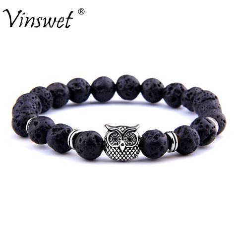 Fashion Owl Lion Helmet Head Bracelet - Products To Build a Better Brain