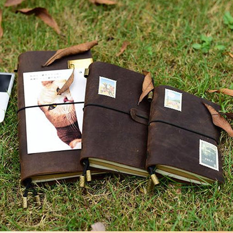 Leather Journal/Life Planner/Diary/Notebook - Products To Build a Better Brain