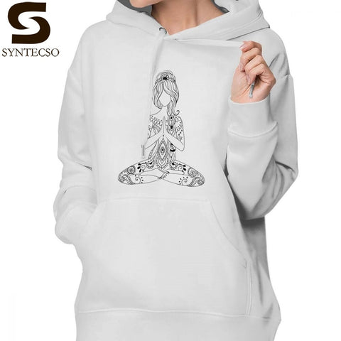 Om Hoodie Om Chakras Mindfulness Meditation - Products To Build a Better Brain