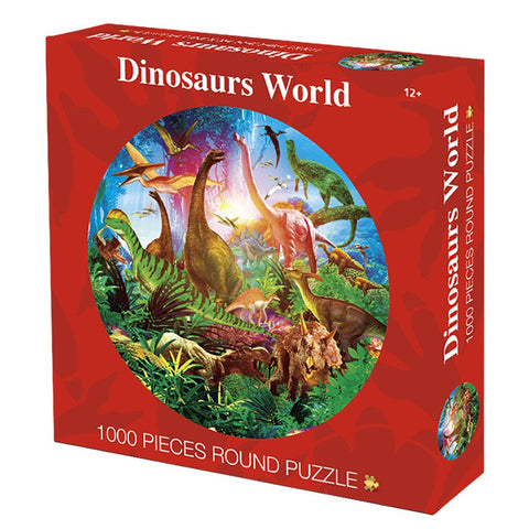 Round Puzzle Dinosaur World 1000 Capsules Exercise Hand And Brain Toy Kids Toys 5.8 - Products To Build a Better Brain