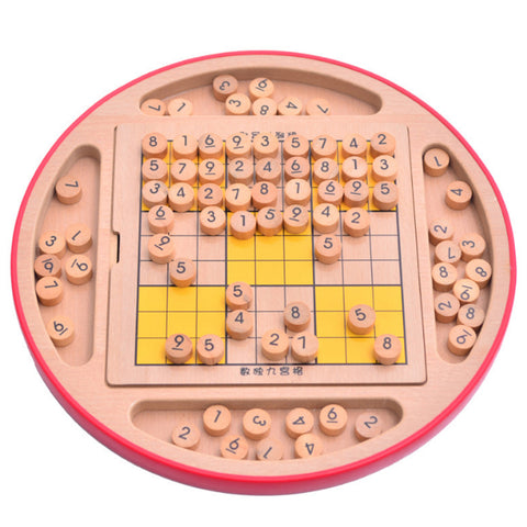 Surwish Multifunction Wooden Adult Desktop Game - Products To Build a Better Brain