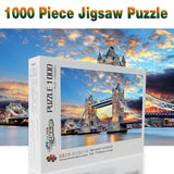 Tower Bridge of London at Sunset - Wooden Puzzle Choose 520/1000/1500 pcs - Products To Build a Better Brain