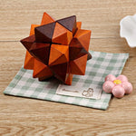 Wooden Luban Lock Ball IQ Puzzle - Products To Build a Better Brain