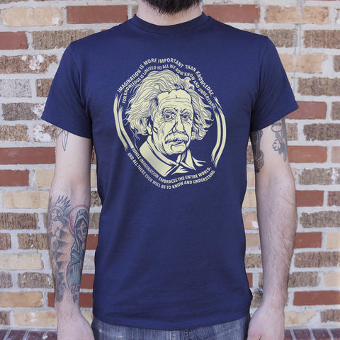 Einstein's Imagination T-Shirt (Mens) - Products To Build a Better Brain