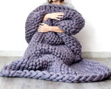 mylb Hot Knitted Blanket Adult Plush - Products To Build a Better Brain