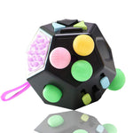 12-Side Anti-Stress Fidget Cube Toy - Products To Build a Better Brain