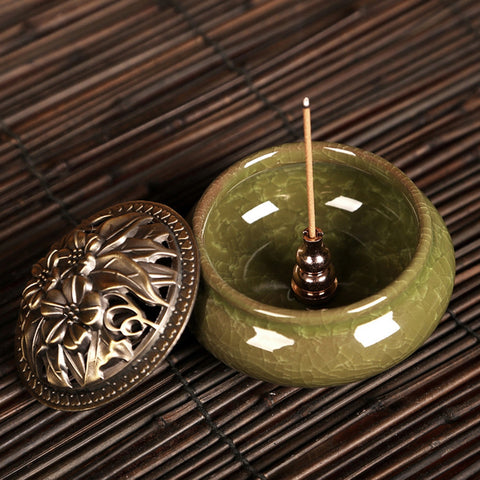 Censer High Incense Burner Plug Alloy - Products To Build a Better Brain