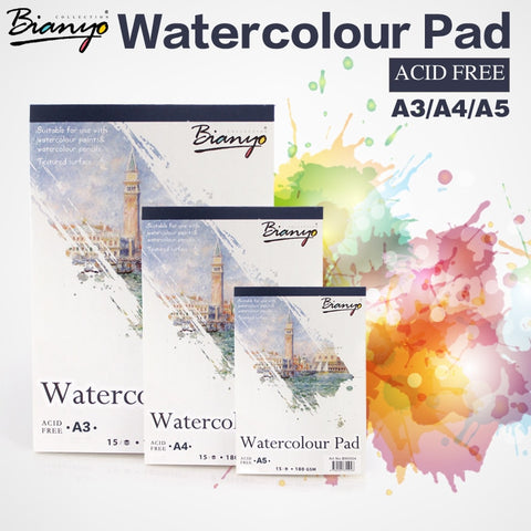 Bianyo A4 A5 Sketch Book Stationery Watercolor Paper - Products To Build a Better Brain