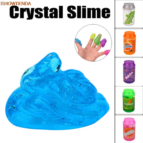 Clear Slime Scented Stress Relief Toy - Products To Build a Better Brain
