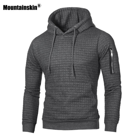 Mountainskin Men's Hoodies Sportswear Long Sleeve Hooded Coat - Products To Build a Better Brain