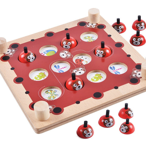 Montessori Wooden Pairing Puzzle Game Puzzle - Products To Build a Better Brain