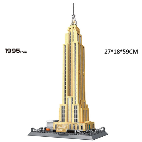 New York Empire State Commercial building - Products To Build a Better Brain