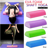 30-45cm Half Round EVA Massage Foam Roller Yoga Pilates  Equipment - Products To Build a Better Brain