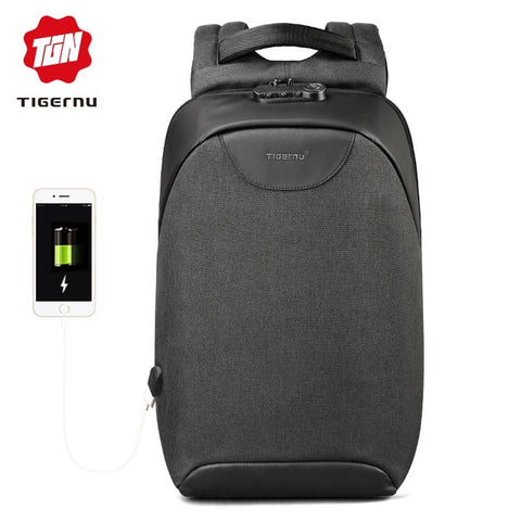 Tigernu Anti-Theft TSA Lock Laptop Backpack USB Charge - Products To Build a Better Brain