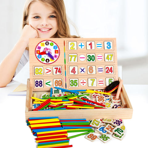 Montessori Early Educational Math Toy Set - Products To Build a Better Brain