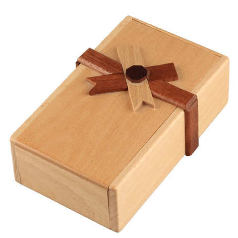 Secret Wooden Puzzle Box - Products To Build a Better Brain