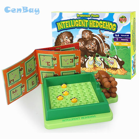Funny Intelligent Hedgehog Escape Room Board - Products To Build a Better Brain