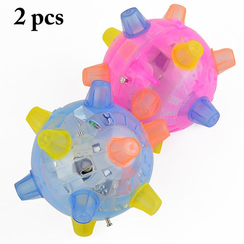 Pet Ball Music Flashing Dog Ball - Products To Build a Better Brain