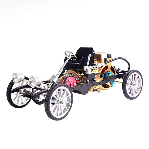 All-Metal Single-Cylinder Engine Simulation Mini Car - Products To Build a Better Brain