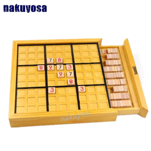Kids Toy for Logical Thinking - Sudoku Puzzle - Wooden Toys Puzzle-  Model Kit Toy - Products To Build a Better Brain