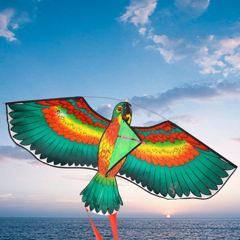 Parrot Kite Outdoor Fun Flying Toys - Products To Build a Better Brain