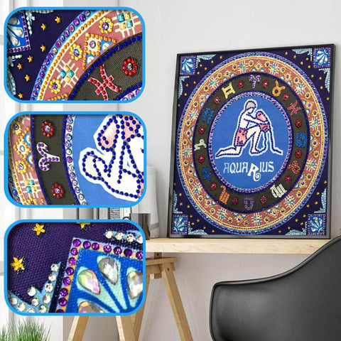 Constellation Cross Stitch Craft Embroidery Diamond - Products To Build a Better Brain