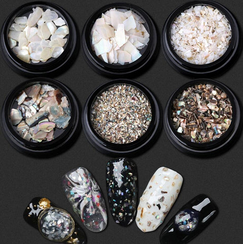 5 Boxes Mini Shell Beads Sequins - Products To Build a Better Brain