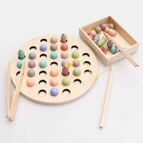 Montessori Math Fishing Multi-functional Learning Toy - Products To Build a Better Brain